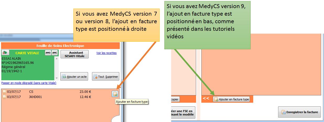 MedyCS v7, v8 ou v9
